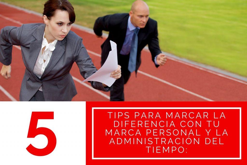 Hector Jimenez - 5 Tips Para Marcar La Diferencia Con tu Marca Personal y La Administración Del Tiempo